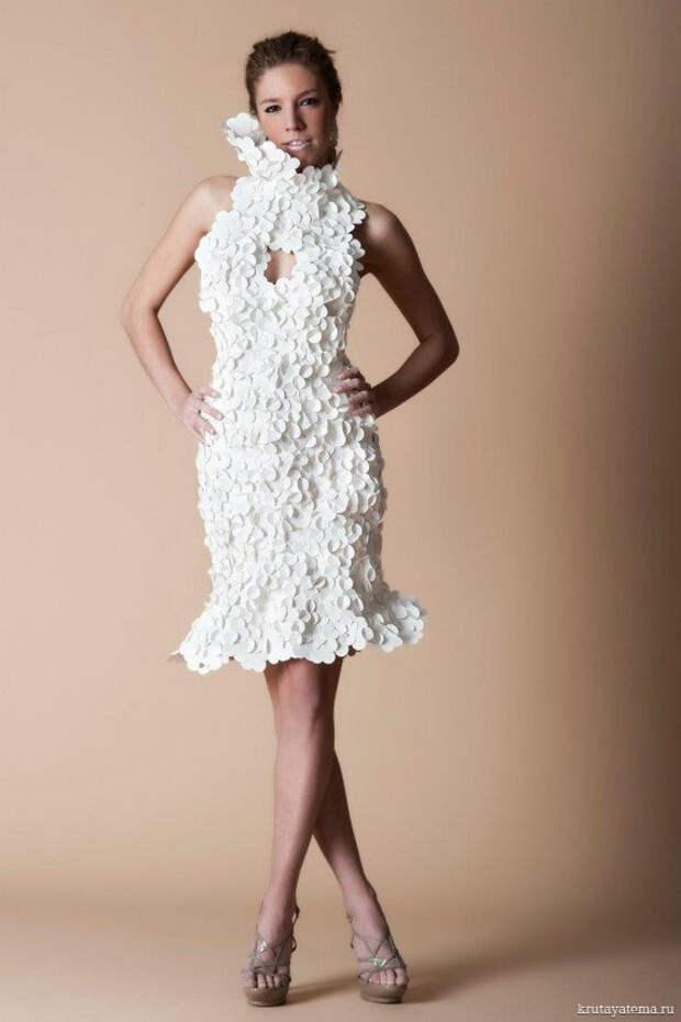 Бумажные платья