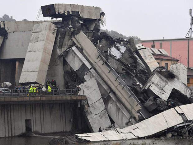 При обрушении моста в Генуе погибли 22 человека: названа причина трагедии