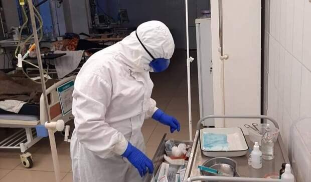 За сутки в Оренбуржье от коронавируса скончались три человека