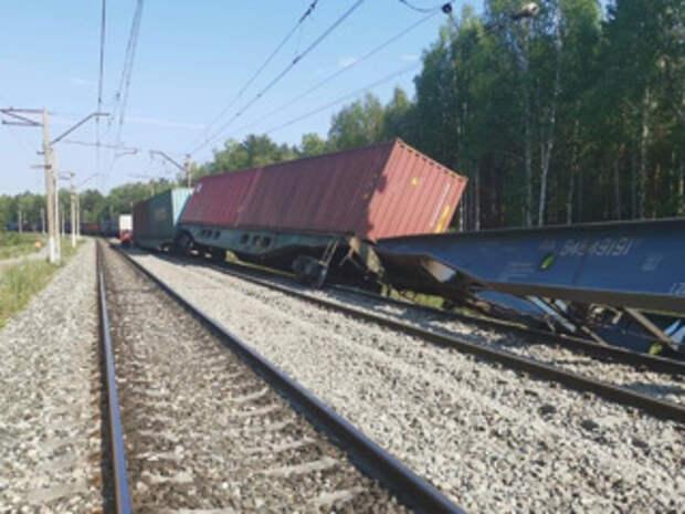 Из-за столкновения поездов закрыт участок Транссиба