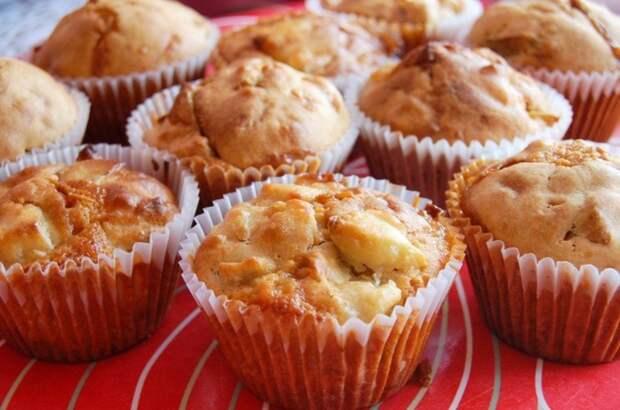 Яблочные кексы: ваша талия скажет спасибо!