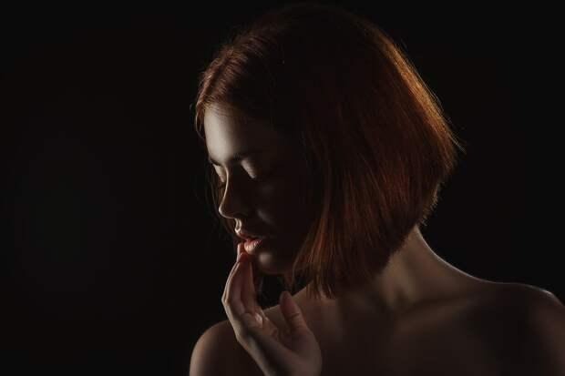 Модель, Девушка, Женщина, Портрет, Чувственные Губы