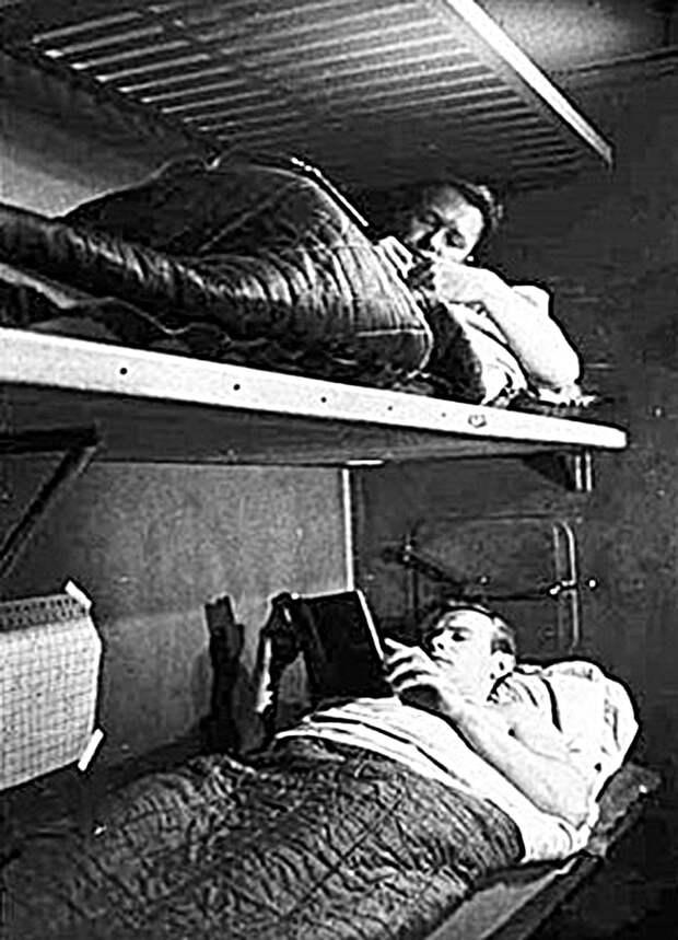 Спальные места «марсонавтов.