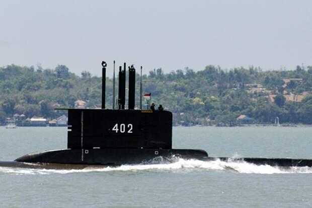 Поиски пропавшей подводной лодки в Индонезии не принесли результата