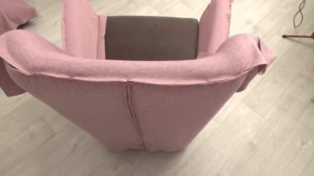 Легкий способ изменить внешний вид мягкой мебели