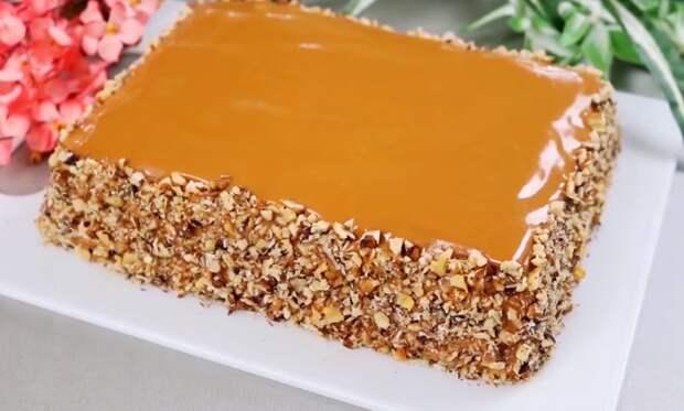 Рецепт изумительного торта без выпечки за 15 минут