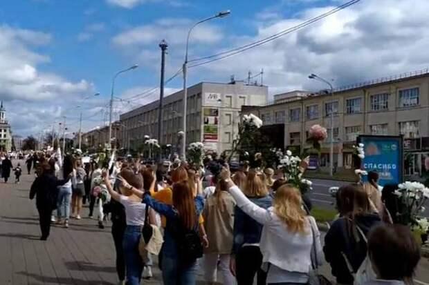 Белорусская оппозиция переключилась на дворовый протест