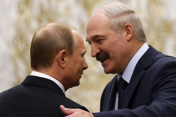 Путин и Лукашенко договорились о цене на газ для Белоруссии