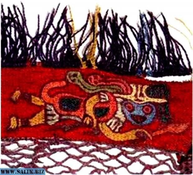 Рис. 4. Образец ткани Наска.