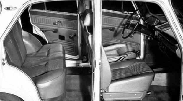 Салон АЗЛК, полученный в результате медицинских исследований эргономики авто, автомобили, азлк, олдтаймер, ретро авто, советские автомобили