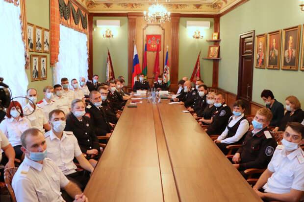 Образован Союз казачьей молодежи России