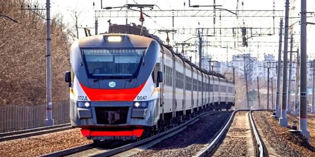 Некоторые пригородные поезда не будут останавливаться на станции «Молжаниново»