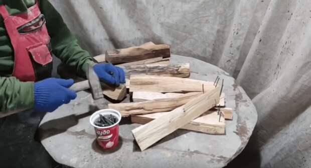 Теперь жалко жечь дрова! Только посмотрите, что с ними делают