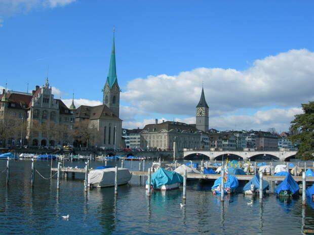NewPix. ru - Цюрих — самый большой город Швейцарии