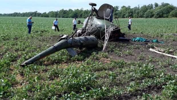 Прокуратура неоднократно штрафовала владельца рухнувшего на Кубани вертолета