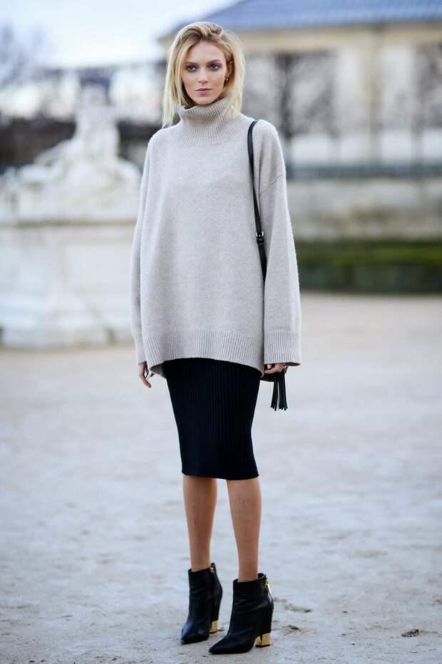 С чем носить джемпер? /Фото: shoelove.deichmann.com