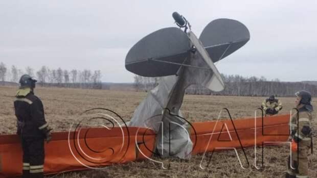 СК возбудил дело после смертельного падения самолета в Иркутской области