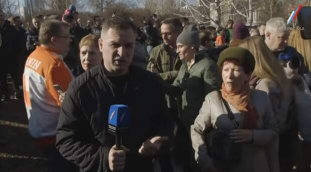 """Подлость и провокации: работа """"журналиста"""" (видео)"""