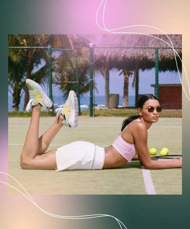 New Balance x STAUD возвращается в спортивном стиле и ярких кроссовках