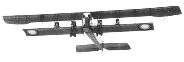 Самолет «Илья Муромец» с собственным именем «Киевский» в полете