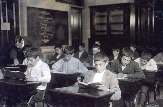 Какой была школа 100 лет тому назад