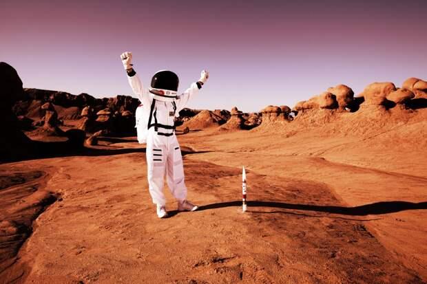 Космонавт назвал три проблемы, препятствующих освоению Марса