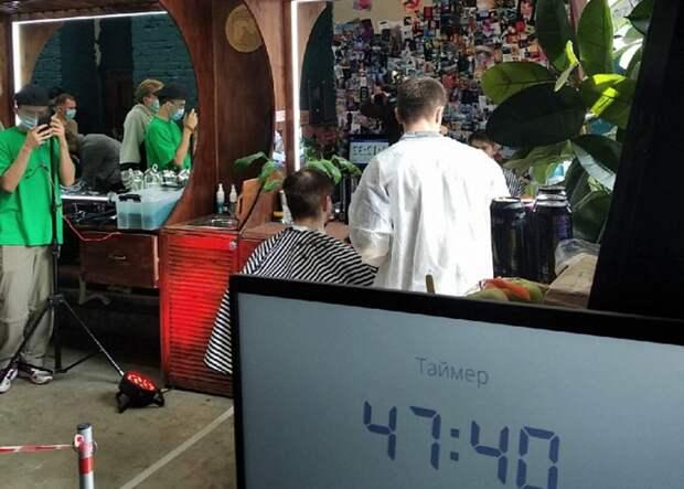 Парикмахер из Костромы претендует на мировой рекорд: за 48 часов 90 стрижек