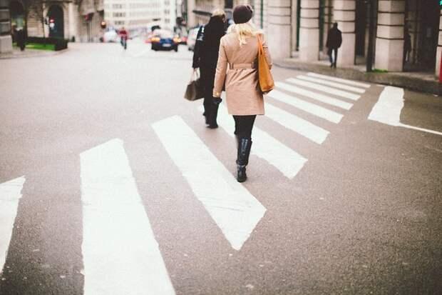 Минтранс рекомендовал изменить пешеходные переходы