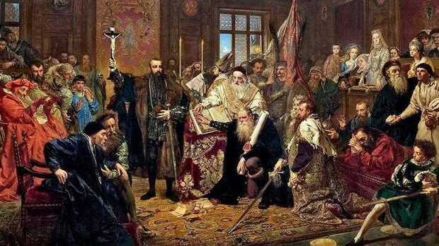 Польша протрубила сбор Речи Посполитой