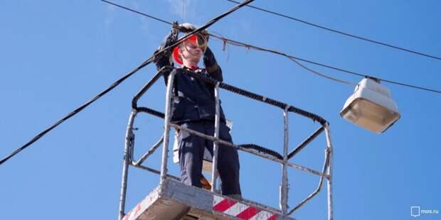В Кузьминках реконструируют восемь километров кабельных линий