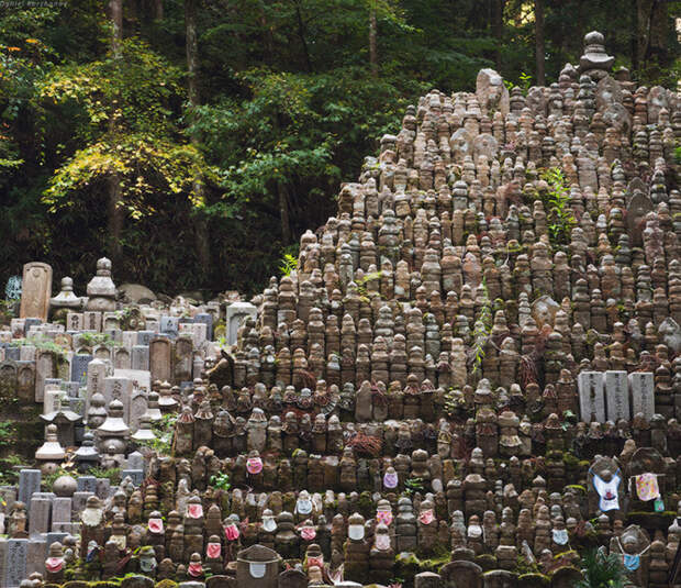 Прогулка по горе Коя в Японии