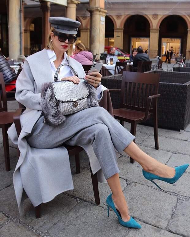 20 потрясающих весенних образов от Жаклины Пизано – самой стильной бабушки Инстаграма