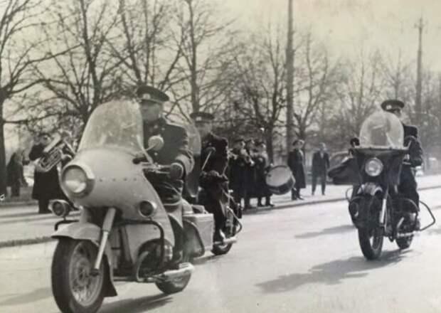Милицейский М-100. Самый мощный из советских «служивых» мотоциклов