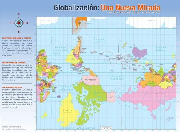 worldmaps07 Карты мира—как они выглядят в разных странах