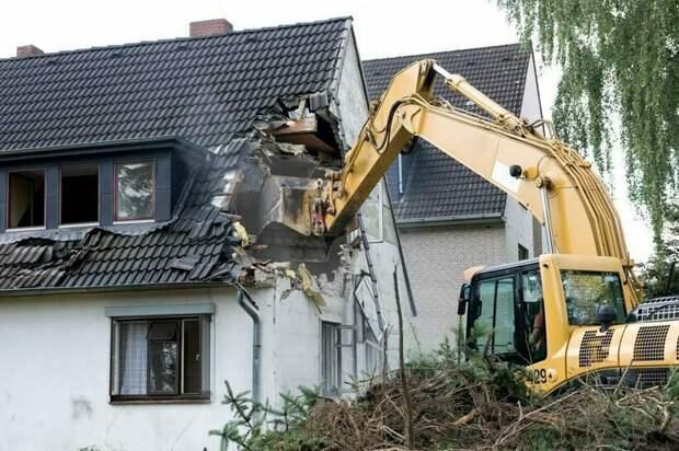 Американцы предпочитают не ремонтировать дома, а возводить новые