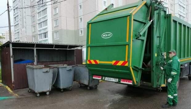 В Подмосковье установили свыше 4 тыс новых контейнеров для мусора за два месяца