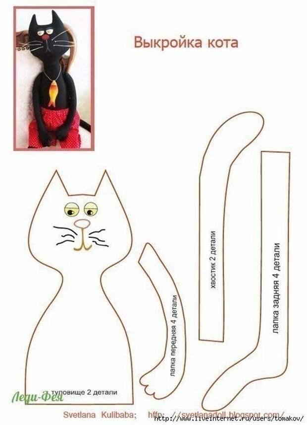 Выкройка котов