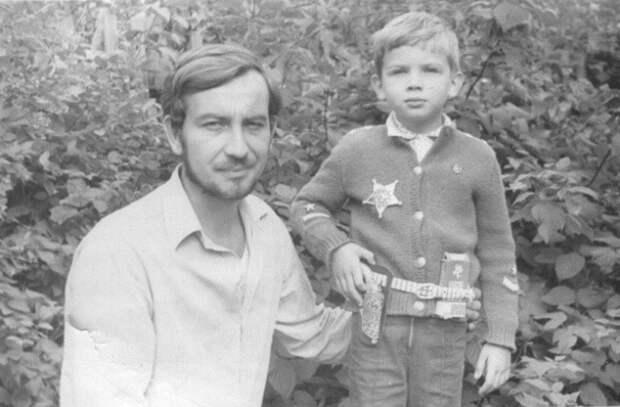 Паша Коноплев в 5-летнем возрасте.