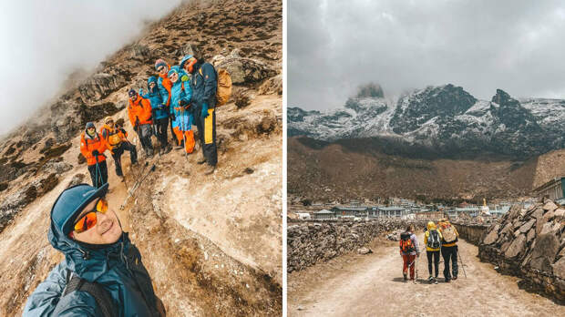 Покорявшие Гималаи российские туристы застряли в Непале из-за локдауна
