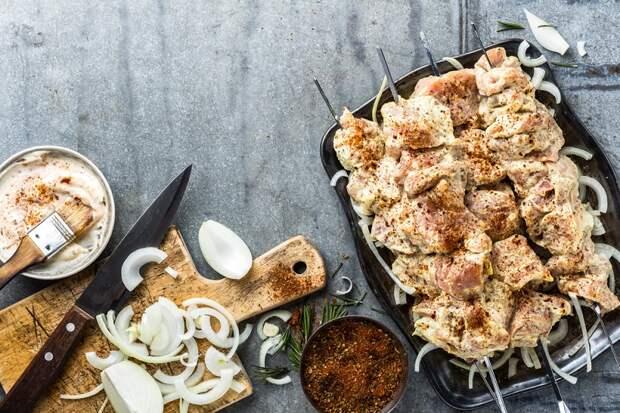 приготовление армянского шашлыка
