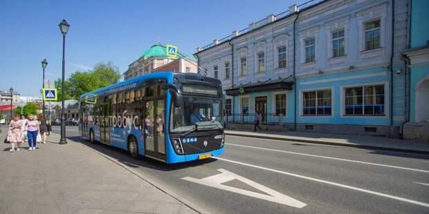 Собянин снизил стоимость проезда на общественном транспорте Москвы. Фото: Е. Самарин mos.ru