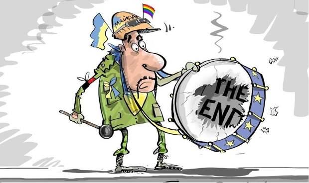 Украина радостно готовится к концу