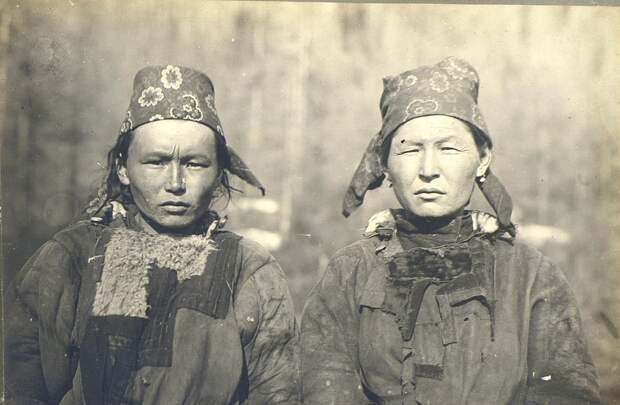 Тофалары во времена СССР. Фото взято из открытых источников