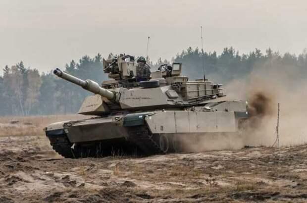 Defense News: танки Abrams ВС США не годятся для войны в России