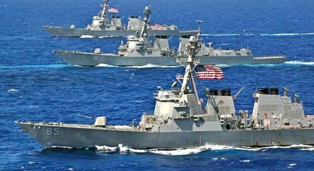 Почему американские корабли развернулись отказав в поддержке Украины?