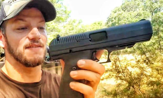 Насколько крепок самый дешевый американский пистолет