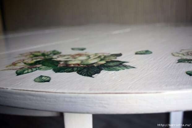 Мастер-класс по созданию стола в стиле шебби шик (7) (700x466, 166Kb)