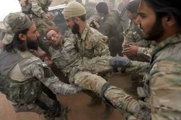 В Сирии нанесён ракетный удар по трём базам турецкой армии, есть убитые