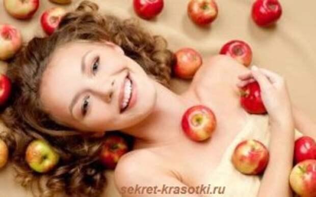 маски из яблок 300x188 Яблочный десерт для Вашей кожи