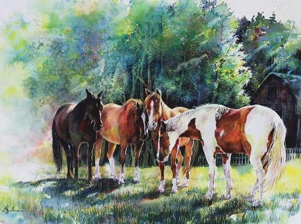 художник Lian Quan Zhen (Лиан Цюань Чжэнь) картины – 14